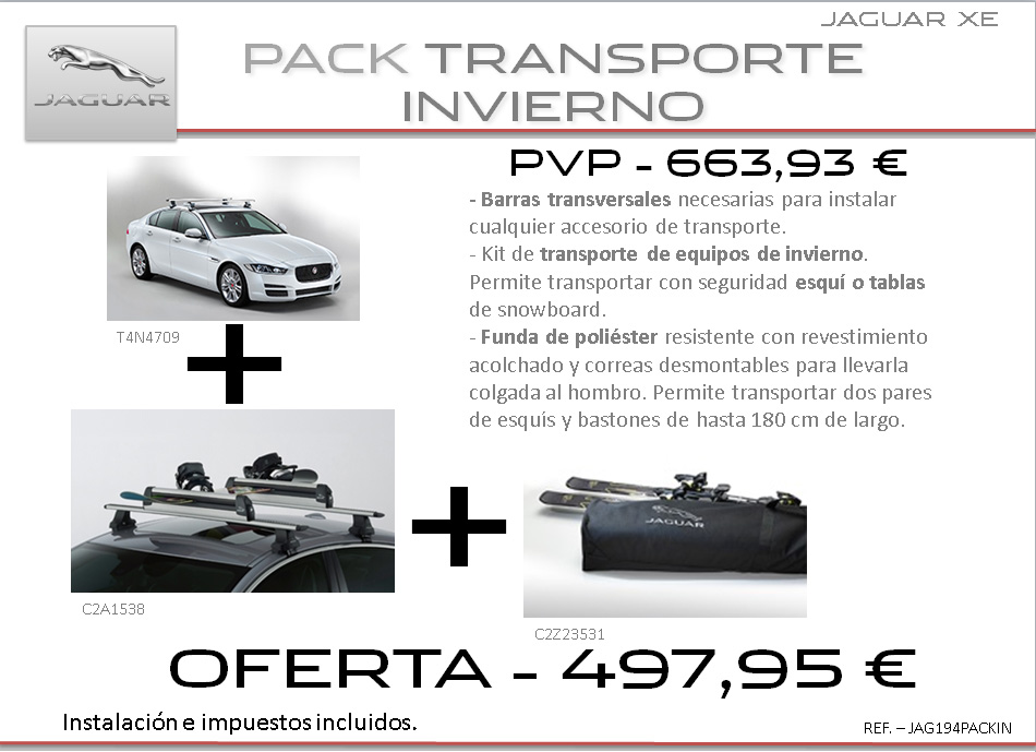 accesorios Jaguar XE 6