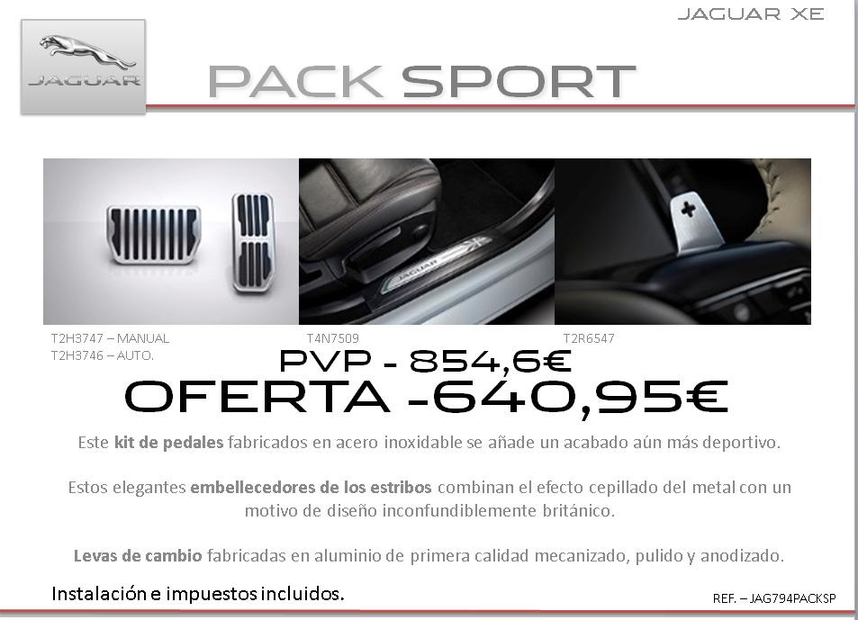 accesorios Jaguar XE5